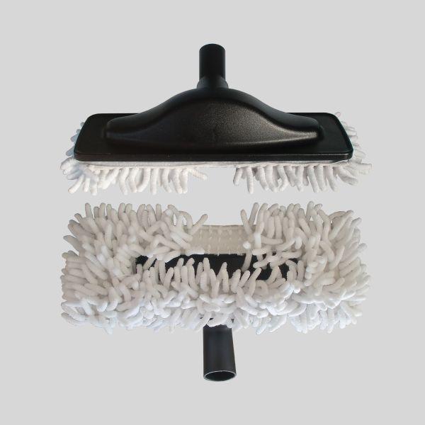 Escova Mopa Microfibra Branca
