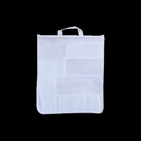 Saco de Acessórios de Luxo Branco
