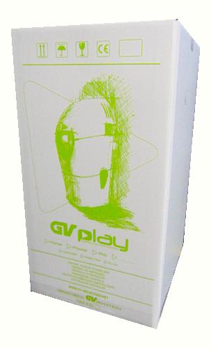 Caixa GV Play Com Logo